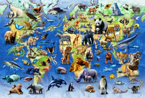 One Hundred Endangered Species