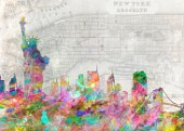 NewYork_Map_Colorsplashwatercolor