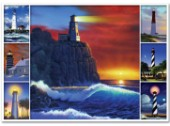 Lighthouse multipic