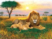 Kings of the Serengeti