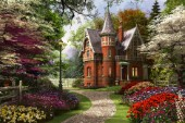 Victorian Cottage in Bloom