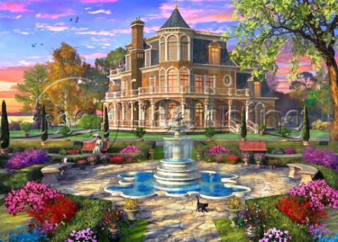 Victorian Mansion Grounds