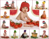 Food babies multipic