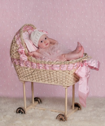 Baby Ballerina in Basket