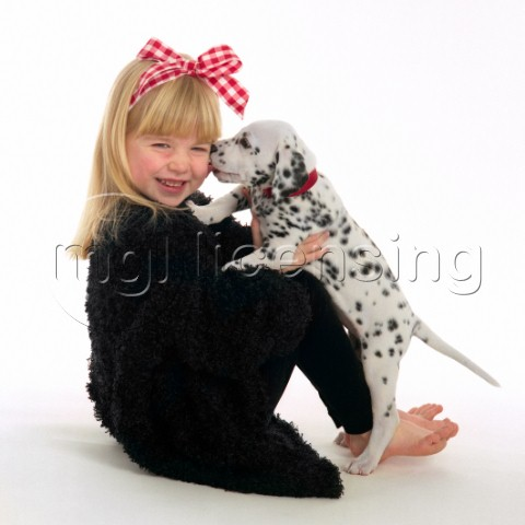 Girl  Dalmation Puppy MF1214
