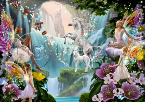 Unicorn Waterfall