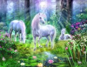 Forest unicorn family (Variant 1)