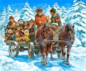 Snow ride - The cedar brook bears
