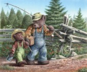 An afternoon with gramps - The cedar brook bears