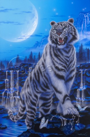 The battle cry  white tiger
