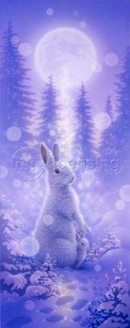 Light Tree Rabbit