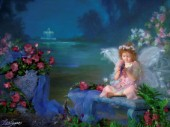 Blue night fairy