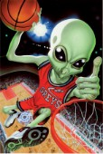 Alien basketball