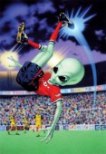 Alien bicycle kick