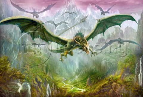The valley of dragons