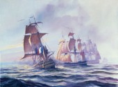 Capture of Guillaume Tell off Malta