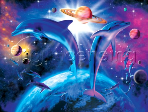 Astral dolphin