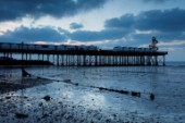 Herne Bay Pier at Dusk