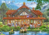 Fishing and Hunting Lodge