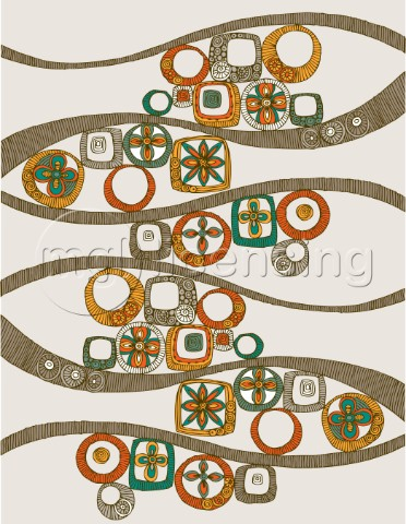 Folk Pattern Horizontal