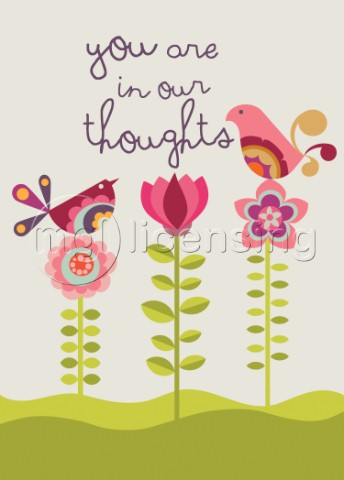 You Are in Our Thoughts