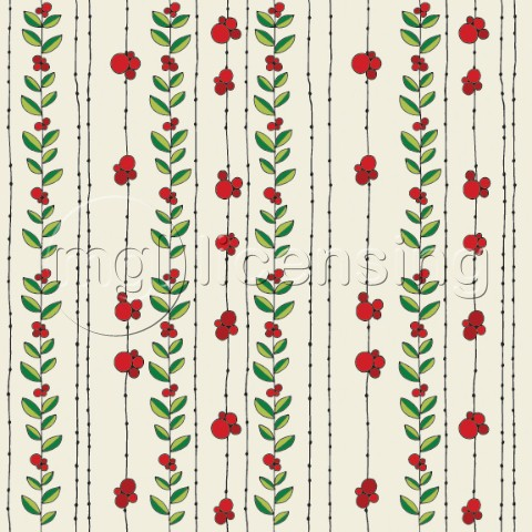 Hollies Pattern