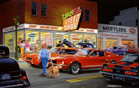 Crazy Eds speed shop