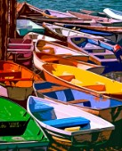 Painted Dinghys and Dories of Maine