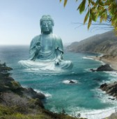 Big Sur Tea Garden Buddha