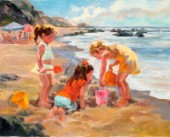 Sand Creations-Girls at Work
