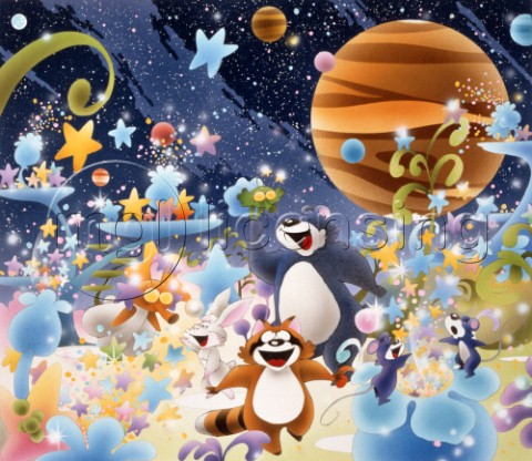 Stars Planets and Animals