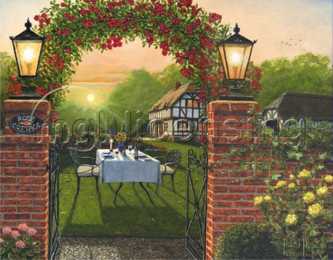 Dinner for Two  Rose Cottage