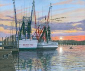 Shem Creek Shrimpers Charleston