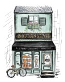 French Shop Front Boulangerie