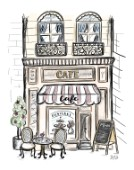 French Shop Front Cafe