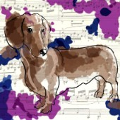 The Painted Dachshund