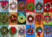Holiday Wreathes 3x6 (Variant 1)