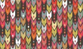 repeating pattern ~ ikat arrows