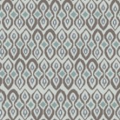 repeating pattern ~ neutral ikat inspired graphic
