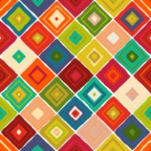 repeating pattern ~ diamond tiles from my Southwestern inspired ABRAZO collection