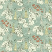 Arctic retro pattern