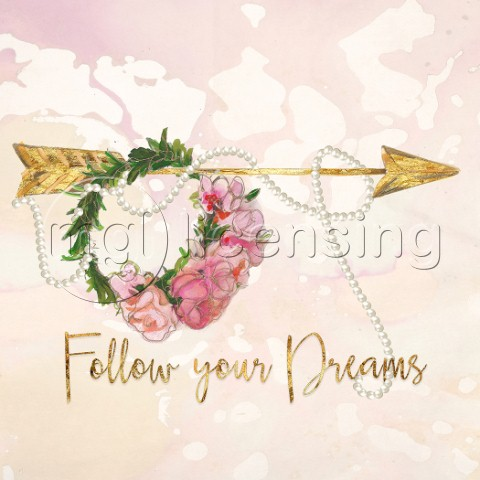 Follow Your Dreams Arrow