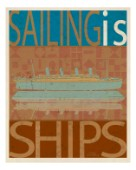 SAILING IS Titanic model on brown.jpg