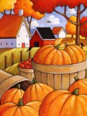 Pumpkins Harvest Countryside