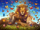 Lions and Butterflies