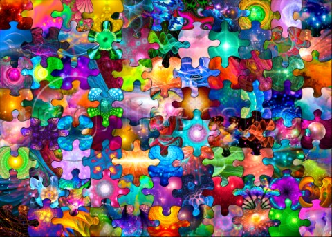 Puzzle Within A Puzzle  Fractal Universe