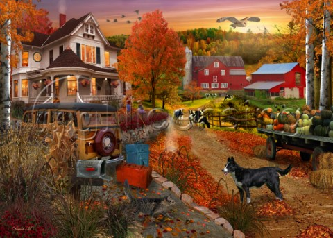 Country Inn  Farm By David M
